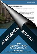 Assessment Report SAP Migration to HANA