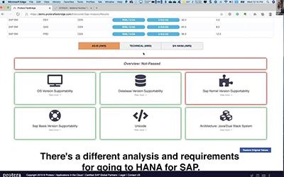 SAP to HANA on AWS Migration Plan